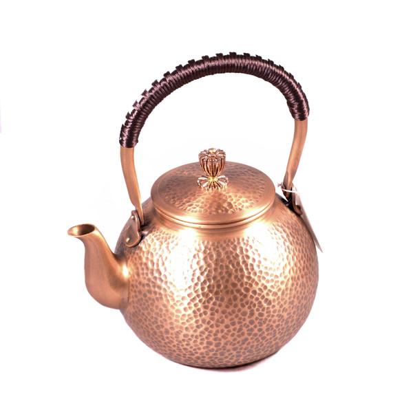 """Чайник для воды медь """"Шар"""""""