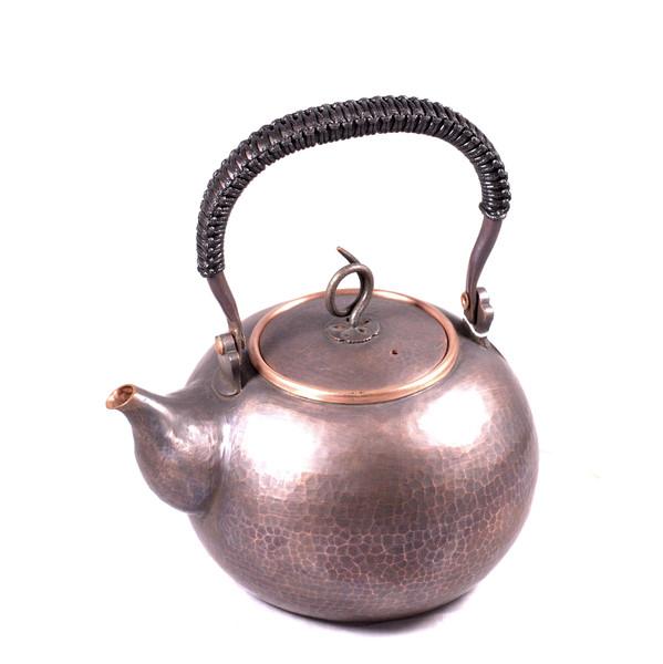 """Чайник для воды медь """"Чеканка"""""""