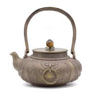 Чайник для воды бронза С кольцами 750 мл