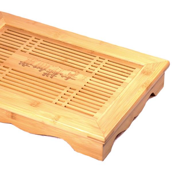 """Чайный столик бамбук """"Китайская мудрость"""" 28,5х40,5см"""