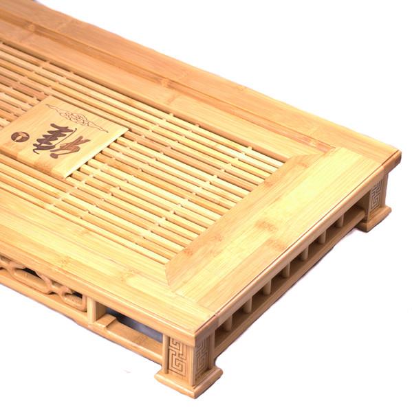 """Чайный столик бамбук """"Печать"""" большой 35х58см"""