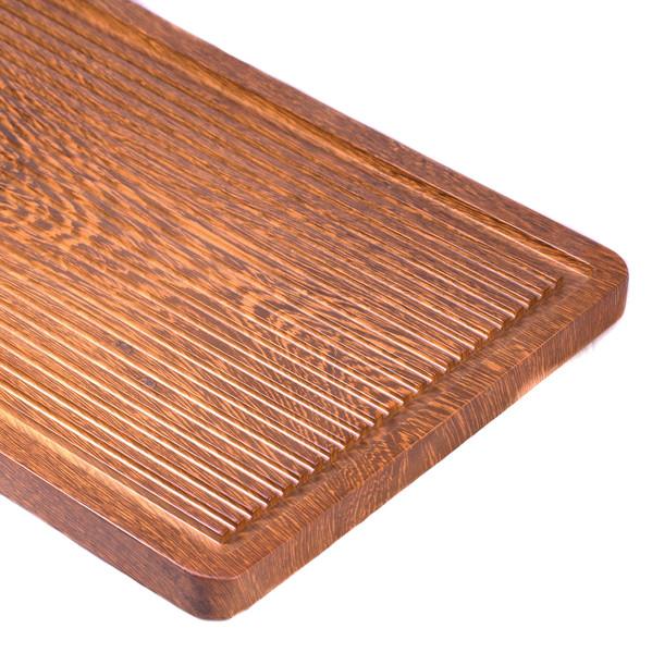 "Чайный столик дерево венге ""Крыло куропатки"" 80х38,5 арт. CHB-19-10-024-3 CHB-19-10-024-3"