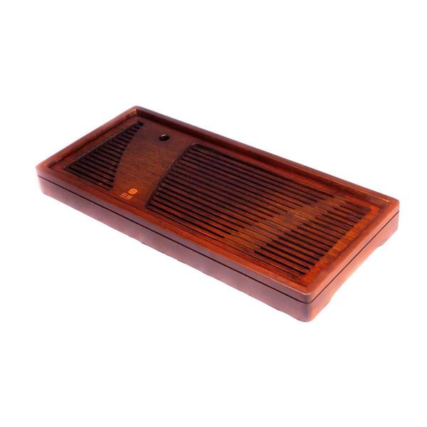 Чайный столик бамбук коричневый Да 50х22x4,6 см