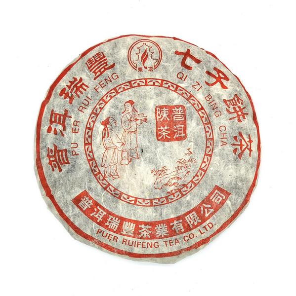 Чай Пуэр Шу Жу Фэн Чэнь Чха Бин '04 №320