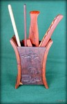 Набор инструментов, красное дерево