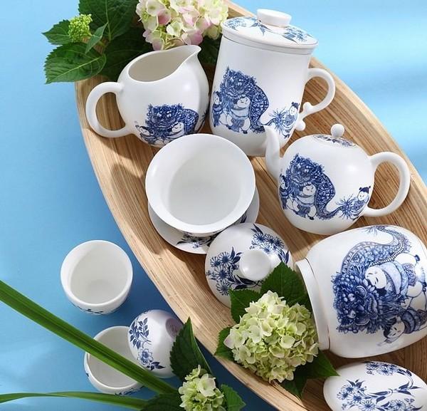 """Набор чайной посуды """"Благопожелание"""", 8 предметов"""