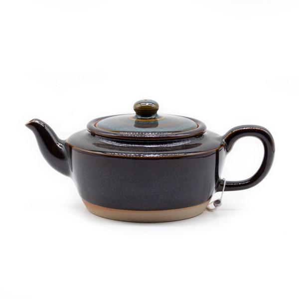 Чайник глина Глазурь Тьен Му Лазурное небо 170 мл
