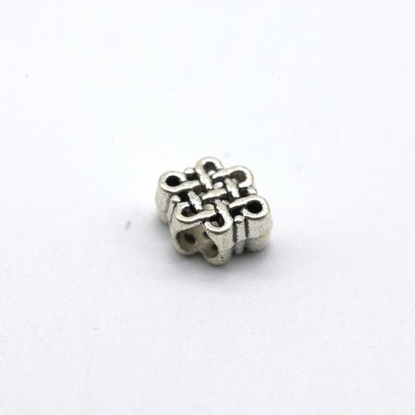 Элемент металл Узел Бесконечного Счастья 6х8 мм