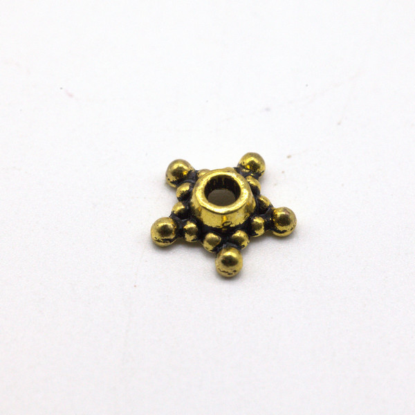 Элемент металл Звезда Античное золото 9 мм