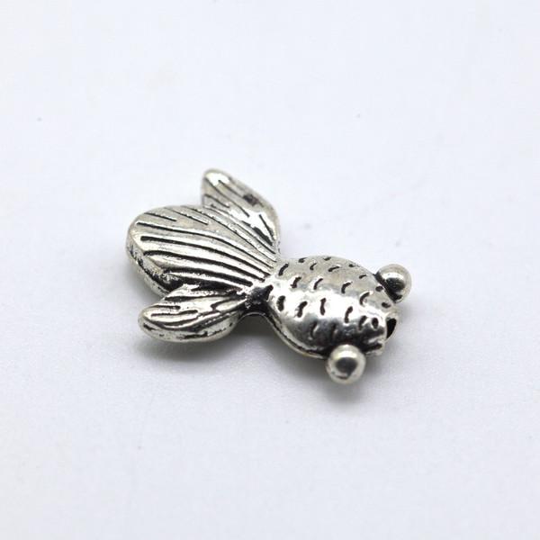 Элемент металл Золотая рыбка 15 мм