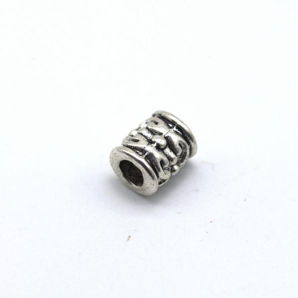 Бусина металл кольцо 8*5 мм