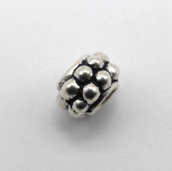 Бусина металл кольцо 7 мм