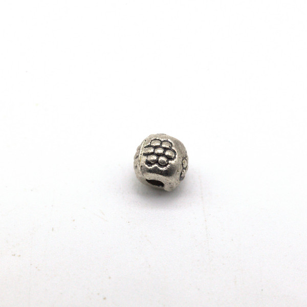 Бусина металл гранат 4 мм