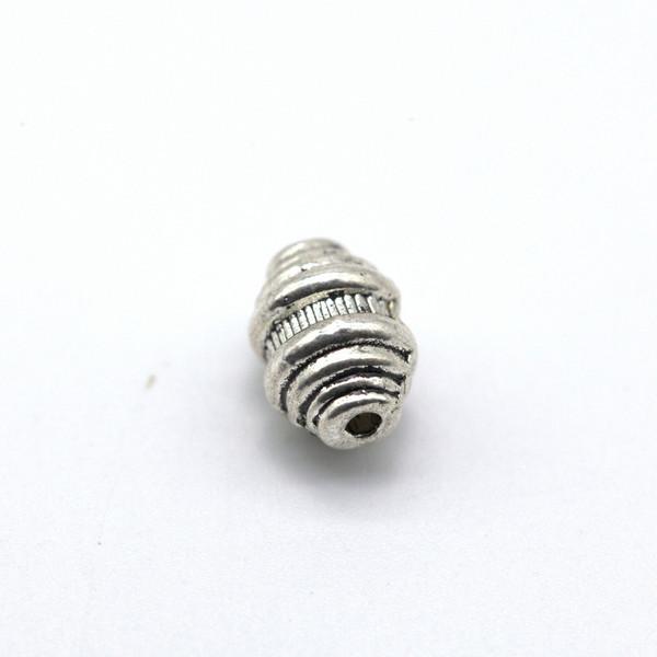 Бусина металл 9 мм