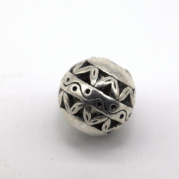 Элемент металл Шар узор 11 мм