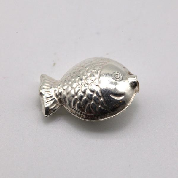 Элемент металл Рыбка 14*11 мм