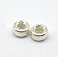 Бусина серебро кольцо 6 мм