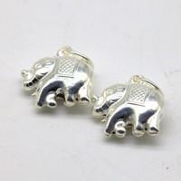 Серебро слон 16*13 мм