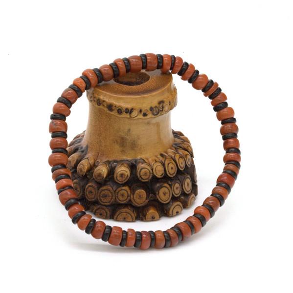 Четки-браслет, вьетнамский корунд, 6мм