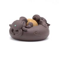 Фигурка глина буйволы