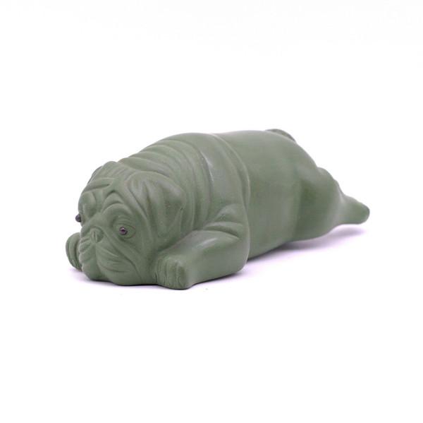 Фигурка глина собака