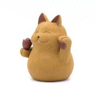 Фигурка глина кот