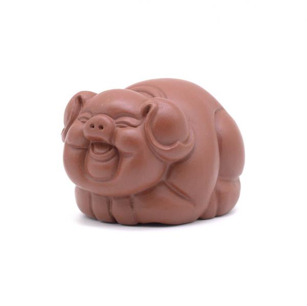 Фигурка глина Свинья