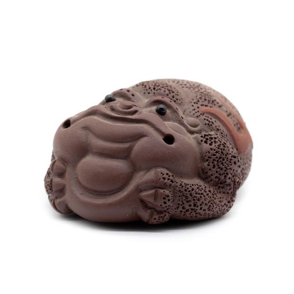 Фигурка глина Жаба