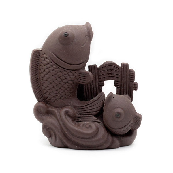 Фигурка глина Рыбы