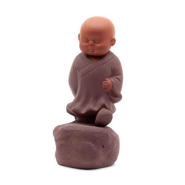 Фигурка глина Монах