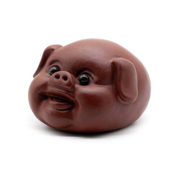 Фигурка глина Свинка