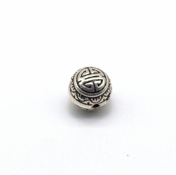 Голова Будды серебро Долголетие 10м