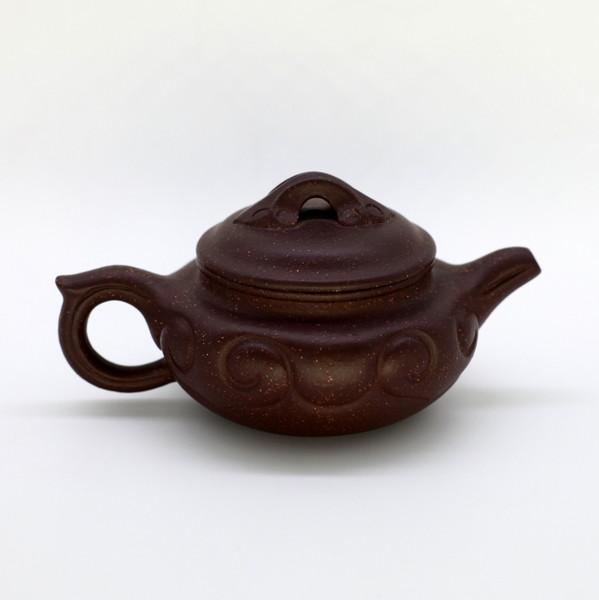 "Чайник глина коричневая ""Волна"" 100 мл"