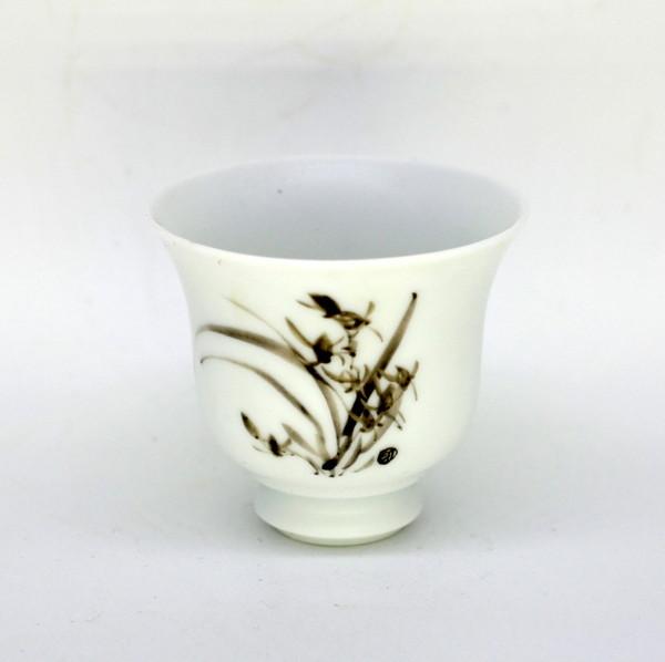 Чашка фарфор орхидея 70 мл