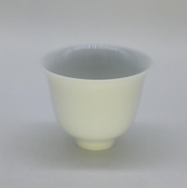 "Чашка фарфор из Цзиндэчжэнь ""Тюльпан"" большая 80 мл"
