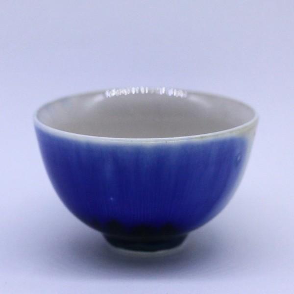 """Чашка фарфор из Цзин Дэ Чжэнь """"Кобальтовая глазурь"""" 85 мл"""