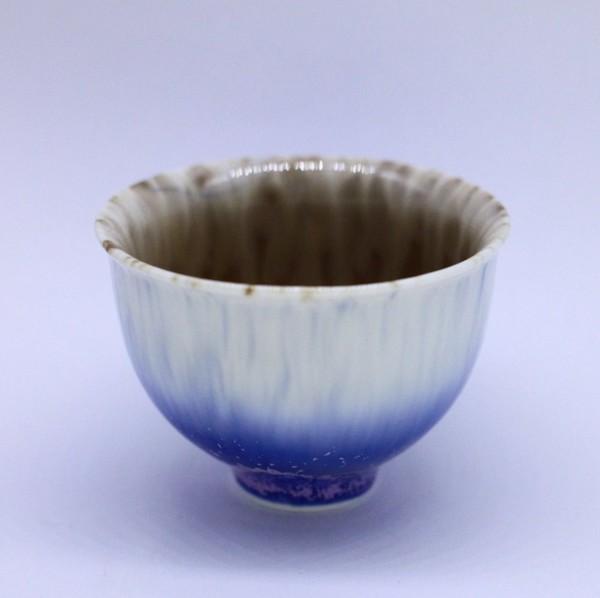 """Чашка фарфор из Цзин Дэ Чжэнь """"Кристаллическая глазурь"""" 150 мл"""