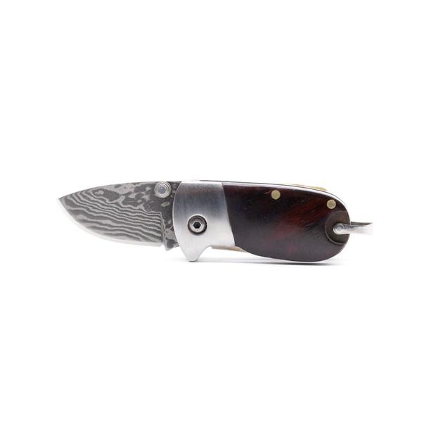 Нож для Сяна с деревянной ручкой складной