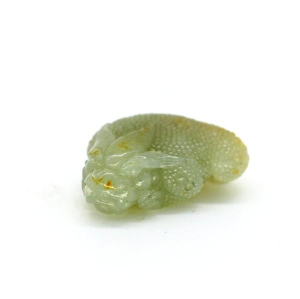 """Фигурка нефрит """"Трехлапая жаба"""""""