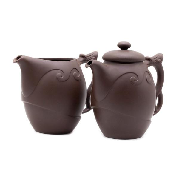 Набор глина Тао Фун чайник и чахай 380 мл