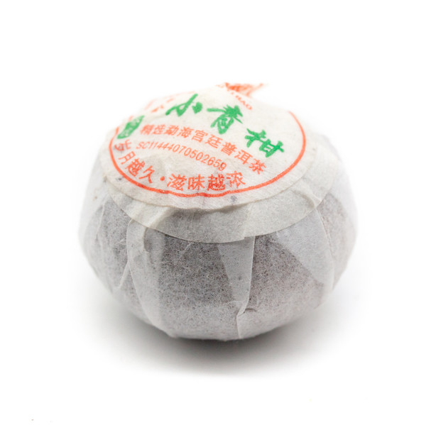 Чай Пуэр Шу Сяо Чхин Ган Чхэн Пи Лао Шу Гун Тин '19 №1000