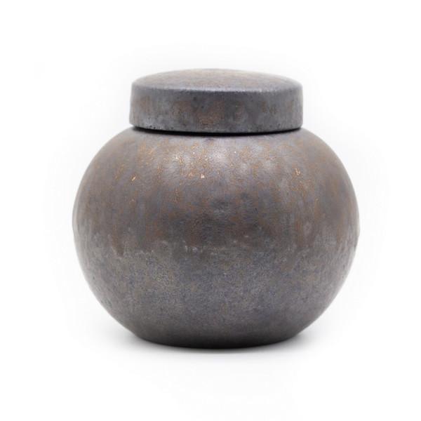 Банка для чая глина дровяной обжиг