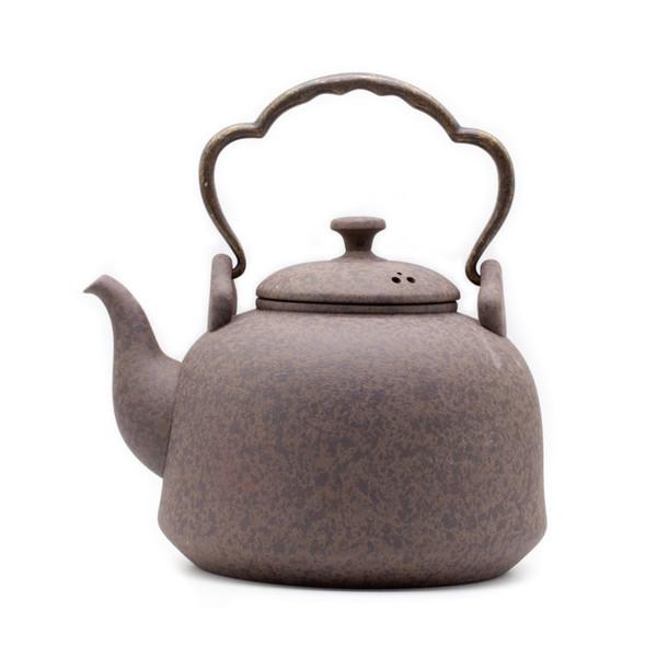 Чайник для воды глина дровяной обжиг 1800 мл