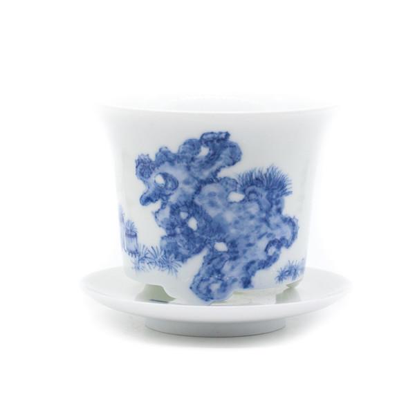 Горшок для цветов фарфор Гун Ши