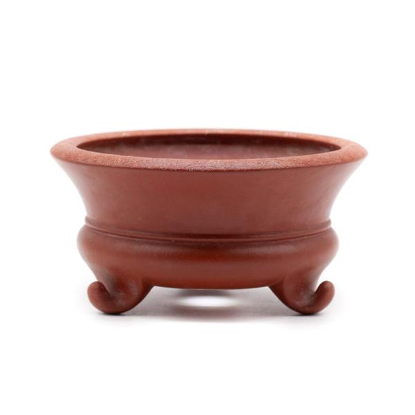 Горшок для цветов глина рыжая Треножник