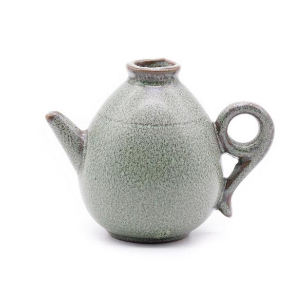 Ваза мини глина Чайник глина глазурь Тьен Му