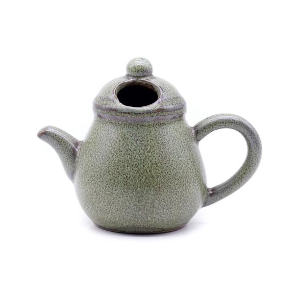 Ваза мини глина Чайник глазурь Тьен Му