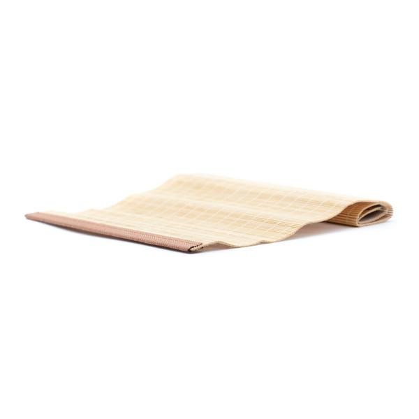 Циновка бамбук Темный край 29,5х19,5 см