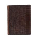 Циновка бамбук Темная 29х19,5 см