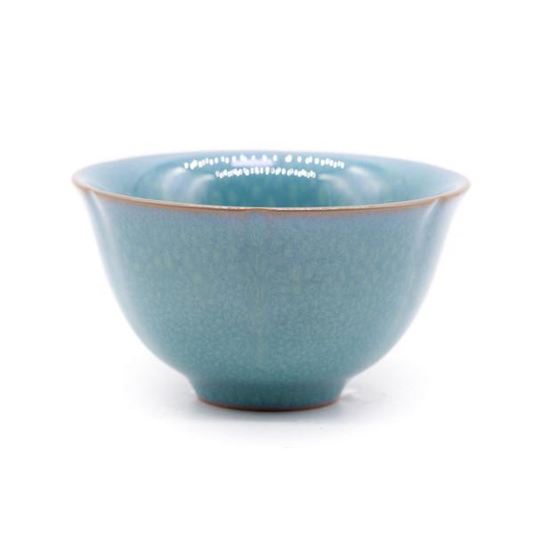Чашка глина Нефритовая глазурь 75 мл